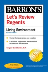 Let's Review Regents: Living Environment Revised Edition - eBook