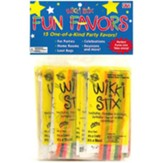 Wikki Stix Party Favor Pack of 15