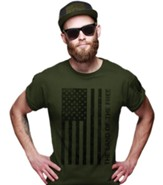 Freedom Flag Shirt, City Green, Medium