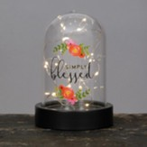Simply Blessed Dome Lantern