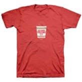 Cup Runneth Over Shirt, Heather Red, Small