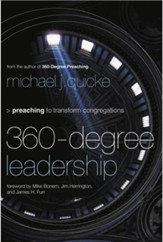 360-Degree Leadership: Preaching to Transform Congregations - eBook