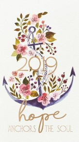 2019 Hope Anchors the Soul 24-Month Daily Planner