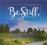 2019 Be Still Small Wall Calendar