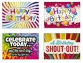 Teen Celebration (NIV) Box of 12 Assorted Birthday Cards