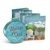 Woman of God Compact Mirror with Bilingual Book