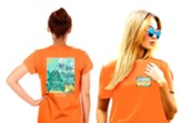 Turtles Shirt, Tangerine, Small