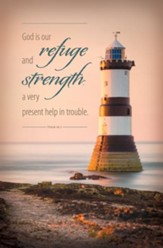 Refuge and Strength (Psalm 46:1) Bulletins, 100