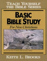Basic Bible Study-Teach Yourself the Bible Series - eBook