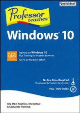Professor Teaches Windows 10 DVD-ROM