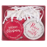 Assorted Christmas Gift Tags, Set of 4