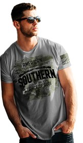 American Southern Shirt, Heather Slate, X-Large