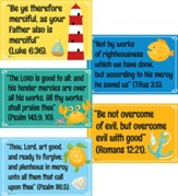 Big Fish Bay: KJV Scripture Verse Posters (pkg. of 5)