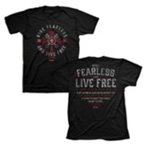 Ride Fearless Shirt, Black, Small