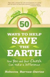 50 Ways to Help Save the Earth: How You and Your Church Can Make a Difference - eBook