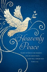 Heavenly Peace (Luke 2:14, KJV) Bulletins, 100