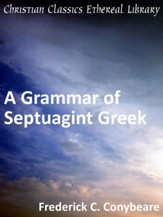 Grammar of Septuagint Greek - eBook