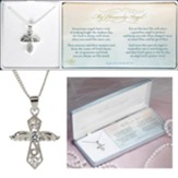 My Heavenly Angel, Cross, Necklace