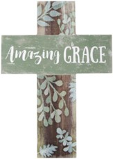 Amazing Grace Wall Cross