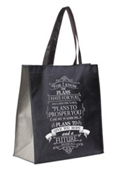 For I Know The Plans I Have For You Tote