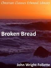 Broken Bread - eBook