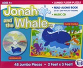 Jonah and the Whale Jumbo Floor Puzzle with Read Along