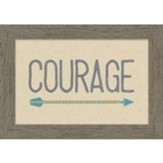Courage Framed Canvas