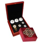Jerusalem Cross Golf Gift Set
