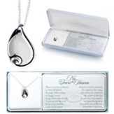 No Tears in Heaven, Teardrop, Necklace