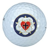 Set of 3 Golf Balls, Lutheran
