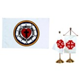 Lutheran Desk Flag