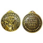 Saint Catherine Of Alexandria Faith Medal