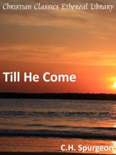 Till He Come - eBook