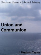 Union and Communion - eBook