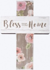 Bless This Home Mini Cross
