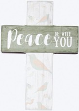 Peace Be With You Mini Cross