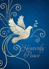 Heavenly Peace, Box of 12 Christmas Cards (KJV)