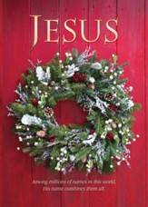 The Name of Jesus, Box of 12 Christmas Cards (KJV)