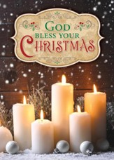 Bless Your Christmas, Box of 12 Christmas Cards (KJV)