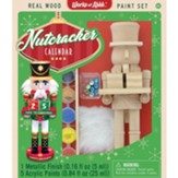 Wood Paint Kit: Nutcracker Calendar