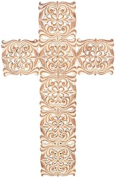 Copper Wash Wall Cross