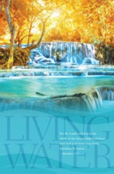 Living Waters (Revelation 7:17) Bulletins, 100