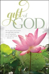 Gift of God (Ephesians 2:8, KJV) Bulletins, 100