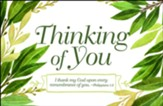 Thinking of You Postcards, Pack of 25
