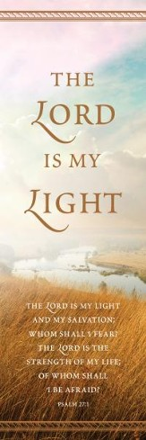 Lord Is My Light (Psalm 27:1) Bookmarks, 25