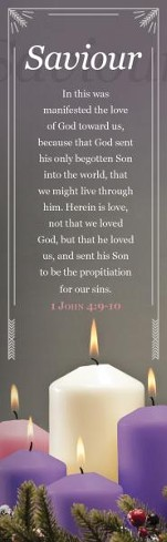 Savior (1 John 4:9-10) Bookmarks, 25