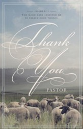 Thank You Pastor (Isaiah 61:1, KJV) Bulletins, 100