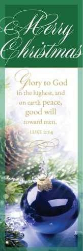 Glory to God (Luke 2:14, KJV) Bookmarks, 25