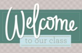 Welcome to Our Class Postcards, Pack of 25