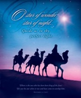 Star of Wonder, Star of Night (Matthew 2:2, NIV) Bulletins, 100